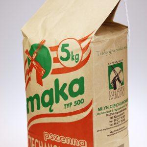 Mąka pszenna Ciechanowiecka typ 500 5 kg