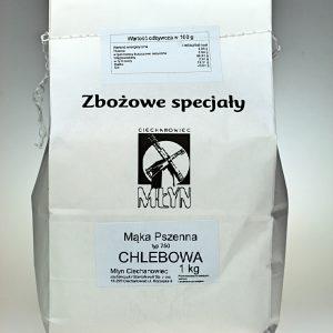 Mąka pszenna Chlebowa  typ 750 1 kg