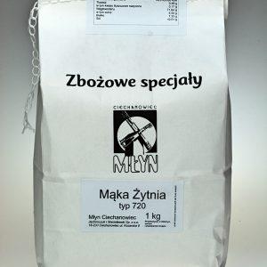 Mąka żytnia typ 720 1 kg