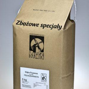 Mąka pszenna Razowa Jasna typ 1600 5 kg
