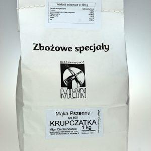 Mąka pszenna Krupczatka 1 kg